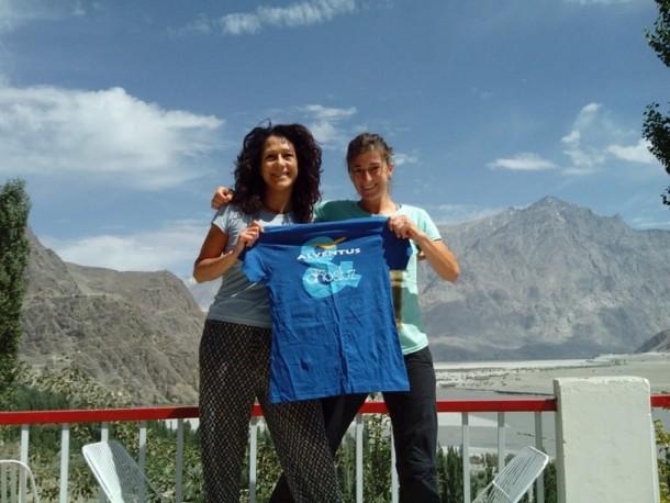 Lina y Pilar hacen cumbre en el Broad Peak