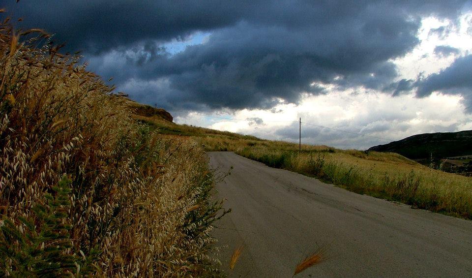 Carretera en Sicilia