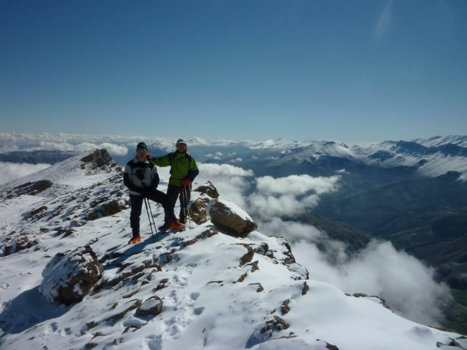 Viaje al Alto Atlas. Cima del Djebel Ghat